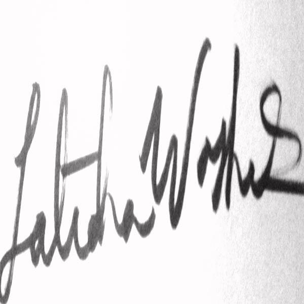 Latidra Washington's Signature