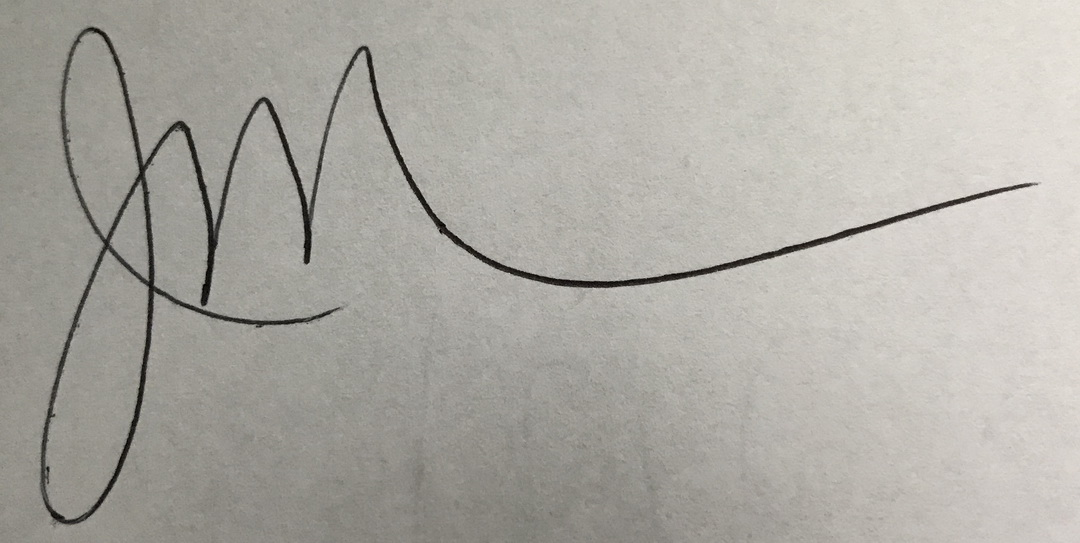 June Mielnichuk's Signature