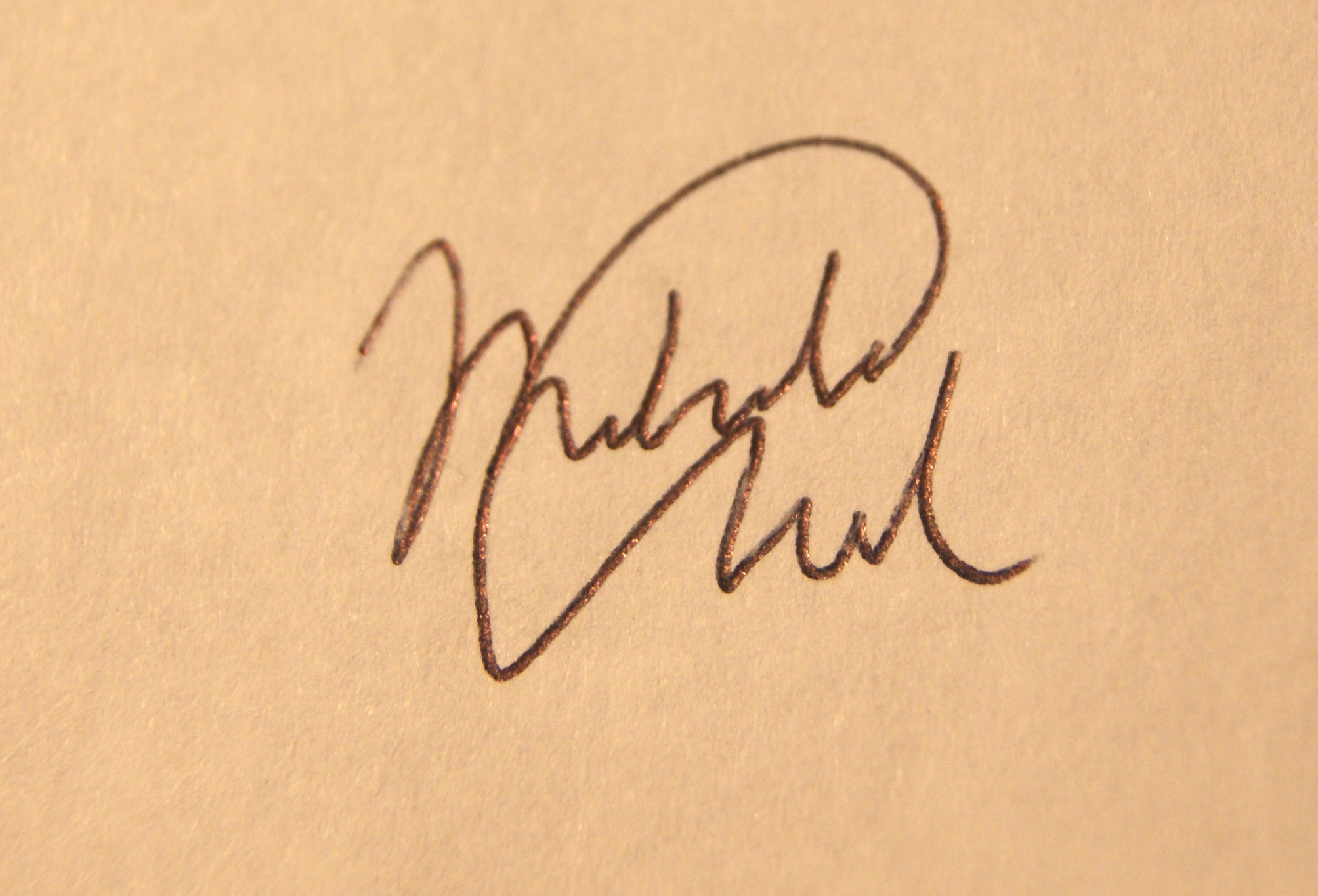 Mika Chandra's Signature