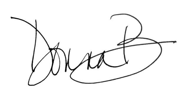 Donna Balsavich's Signature