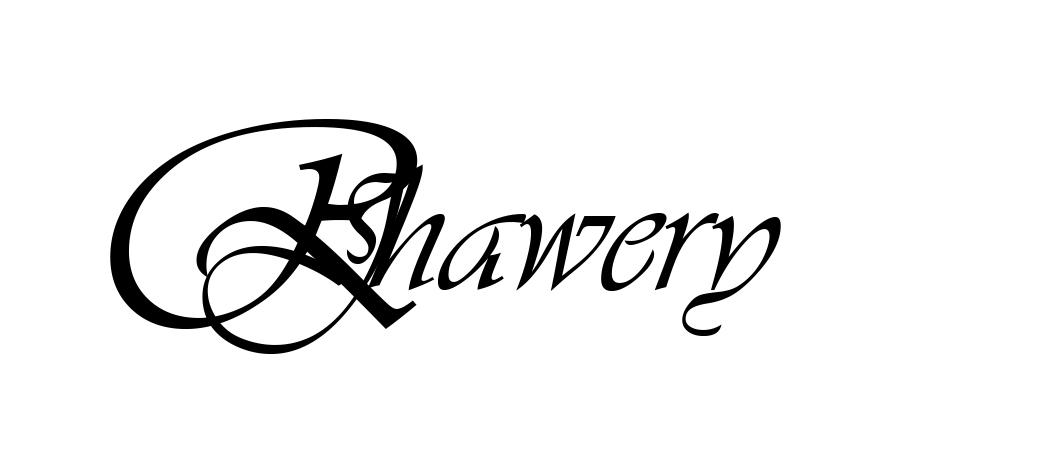 Romaana Jhawery's Signature