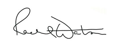 Rachel Watson's Signature