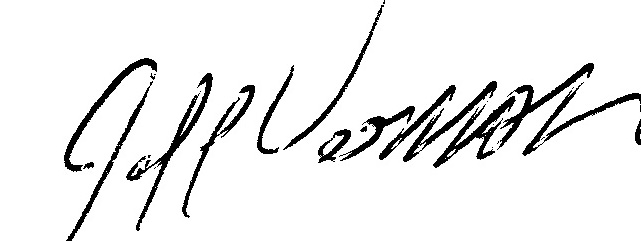 Jeff Vernon's Signature