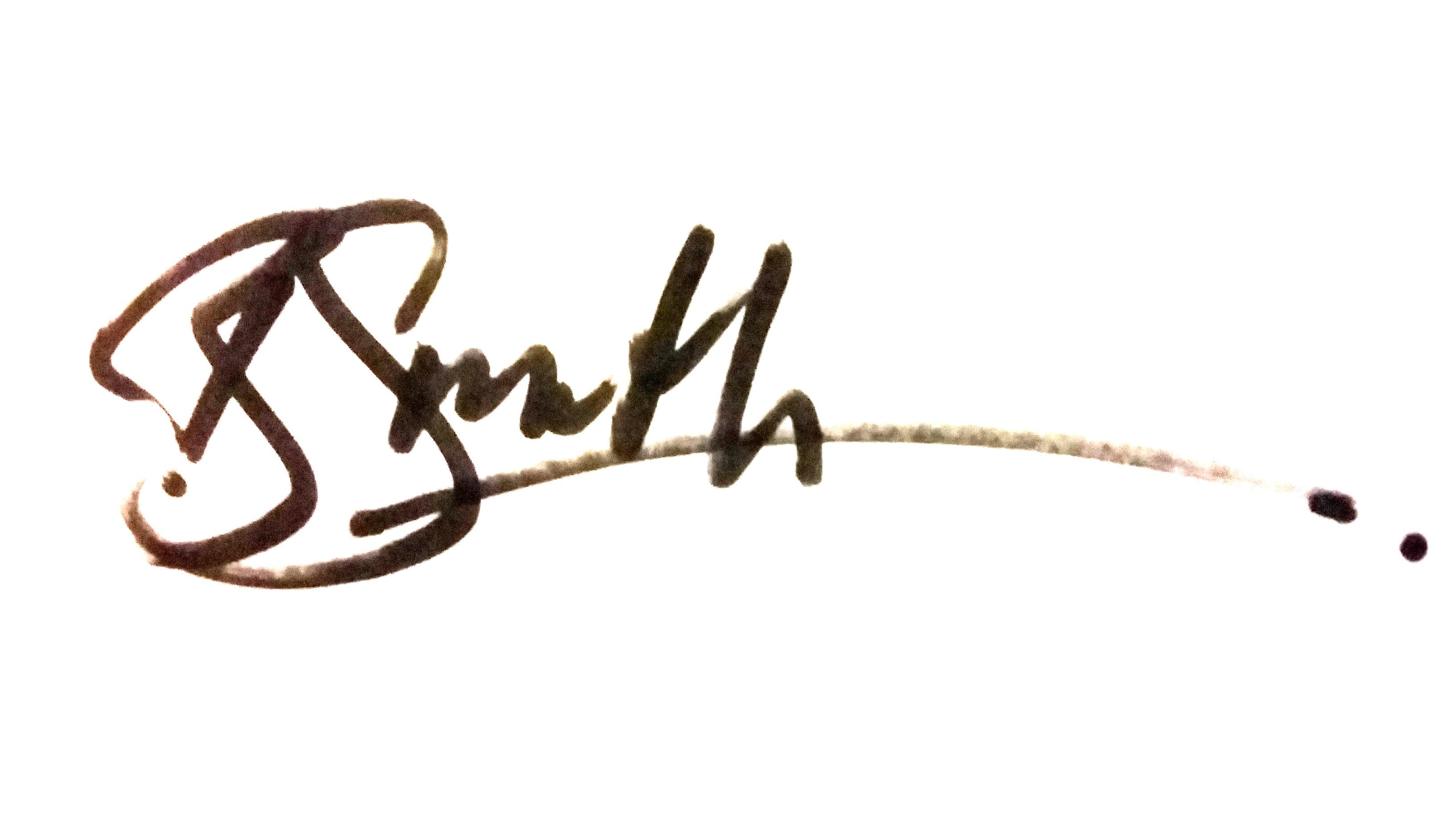 Ben Smith's Signature