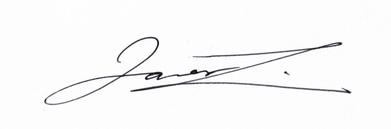 James Liu's Signature