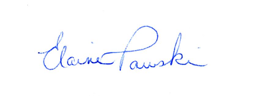 Elaine Pawski's Signature