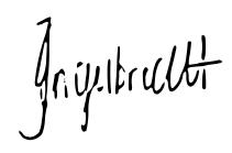 Tarien Engelbrecht's Signature