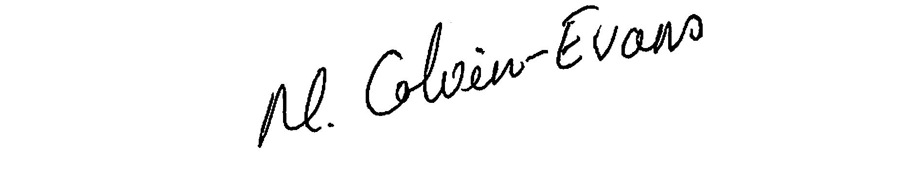 Moya Colvin-Evans's Signature