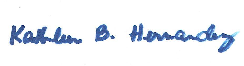 Kathleen Hernandez's Signature