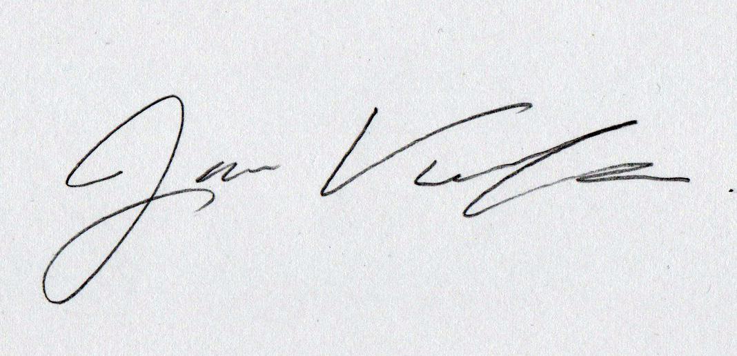 Jamie Villegas's Signature