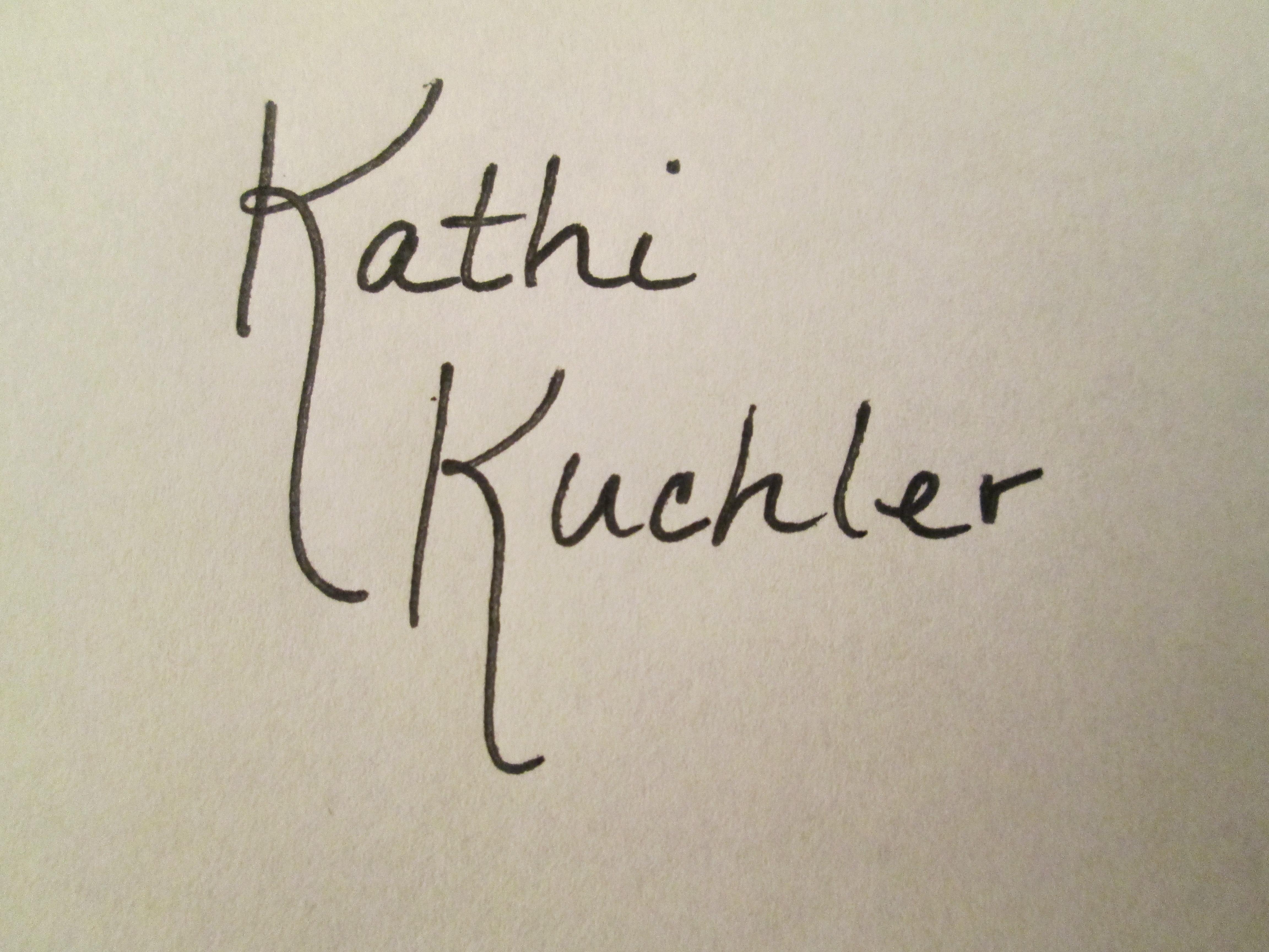 Kathi Kuchler's Signature