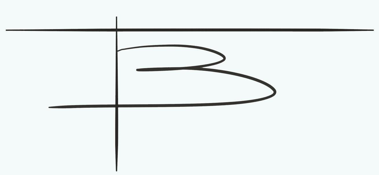 benedicte blanc-fontenille's Signature