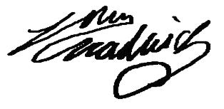 John  Chadwick's Signature