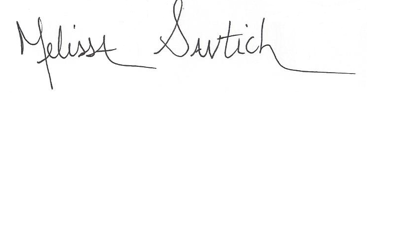 Melissa Santich's Signature
