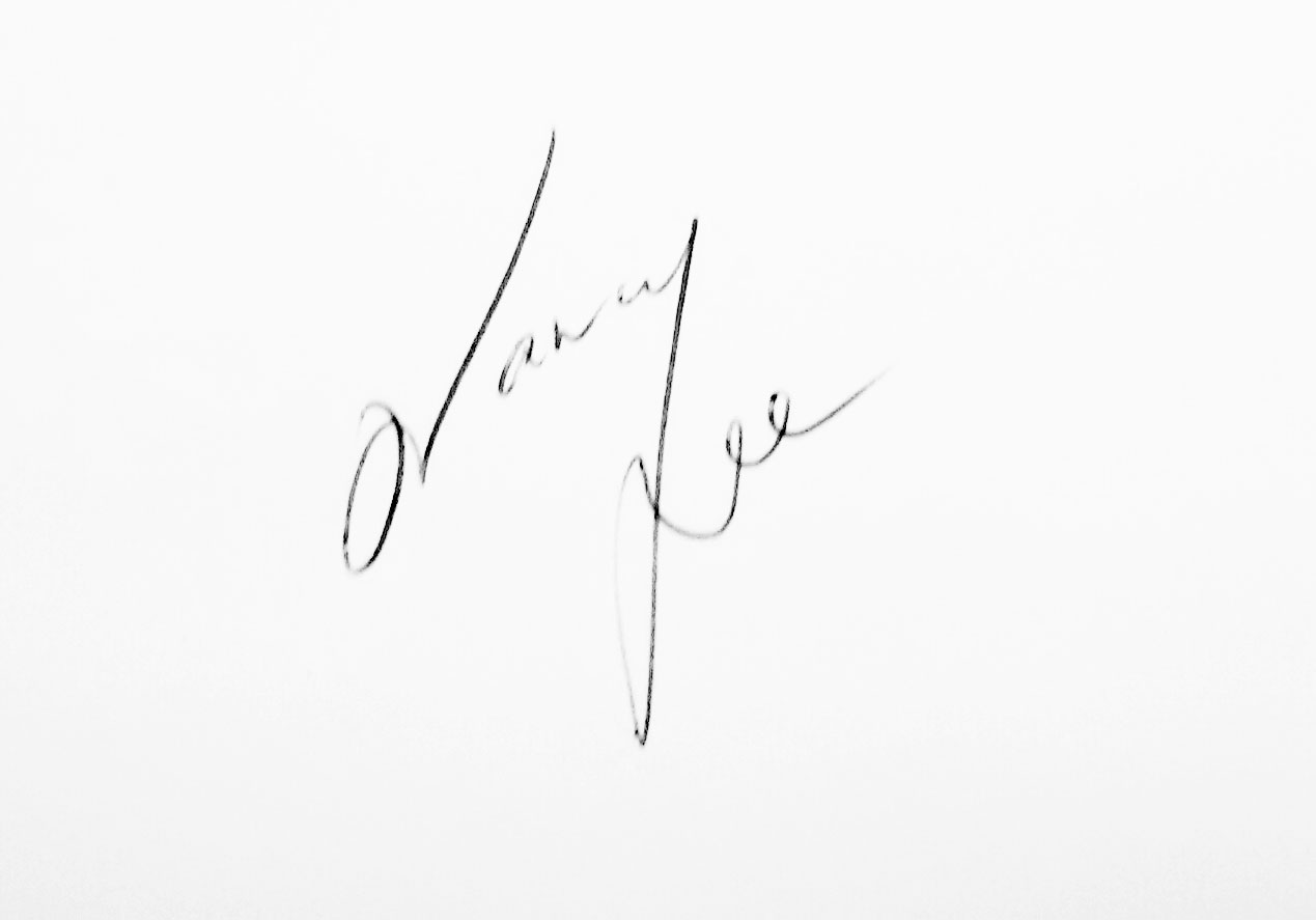 Nancy Lee's Signature