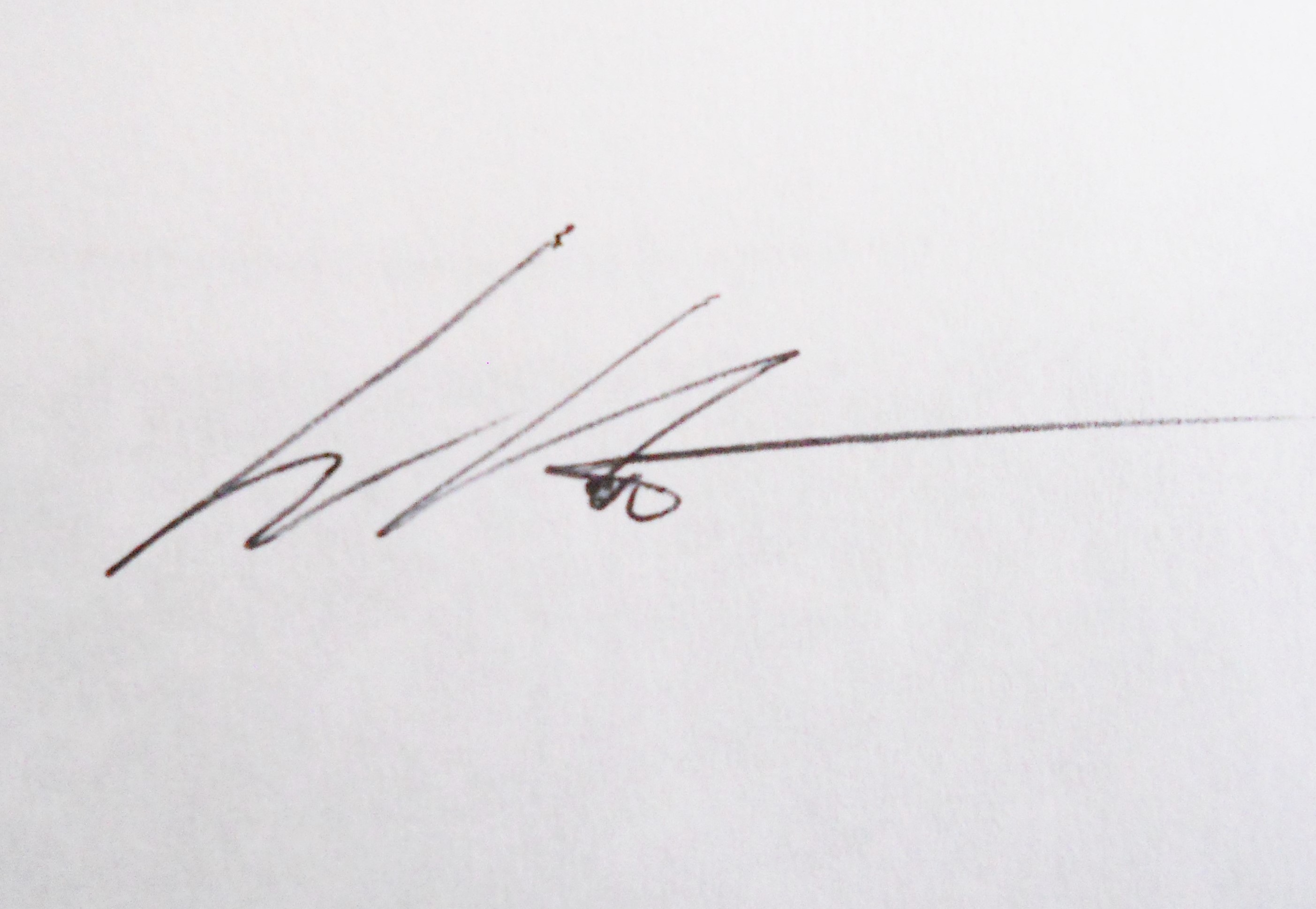 William Kaluta's Signature