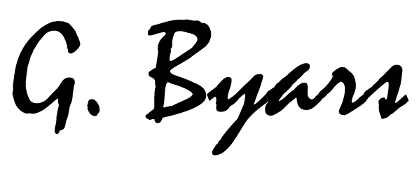 Garry Byars's Signature