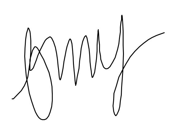 Bevin Macutay's Signature