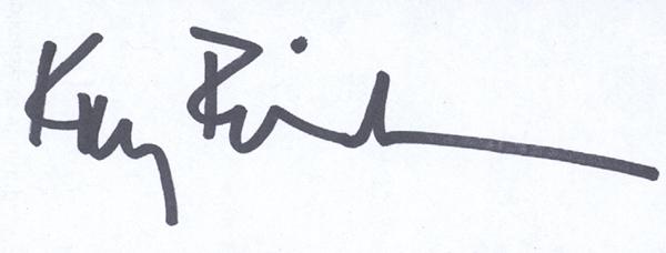 Kay Erickson's Signature