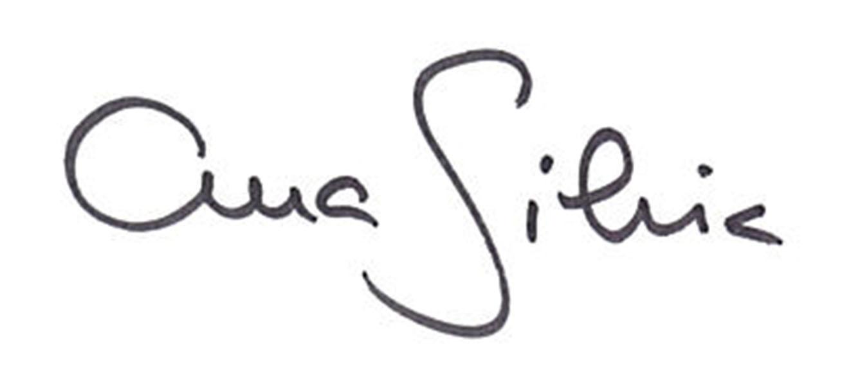 Ana Silvia Santos's Signature