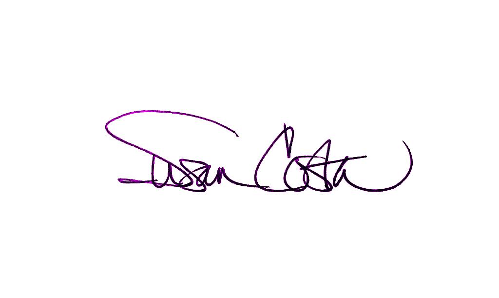 Susan Costa's Signature