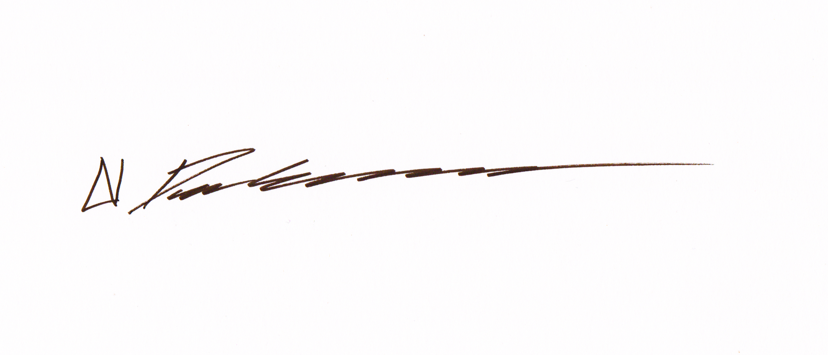 Daniel Crosier's Signature