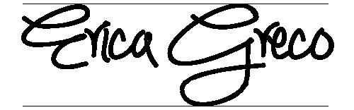 Erica Greco's Signature