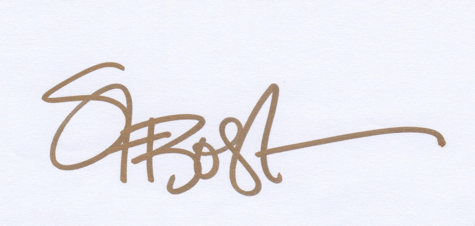Stephanie Bostock ART's Signature