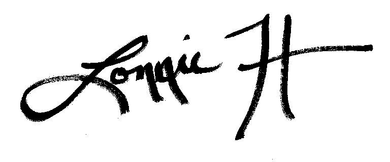 Lonnie Harkins's Signature