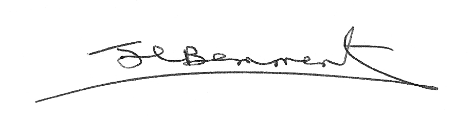 Julie Louise Bemment's Signature