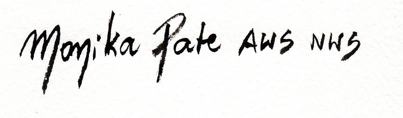 Monika Pate's Signature