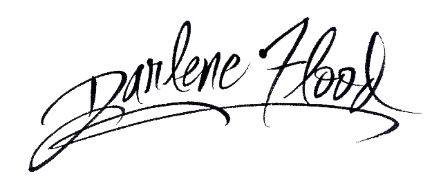 Darlene Flood's Signature