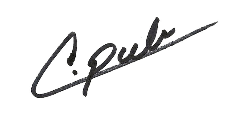 Connie Publicover's Signature