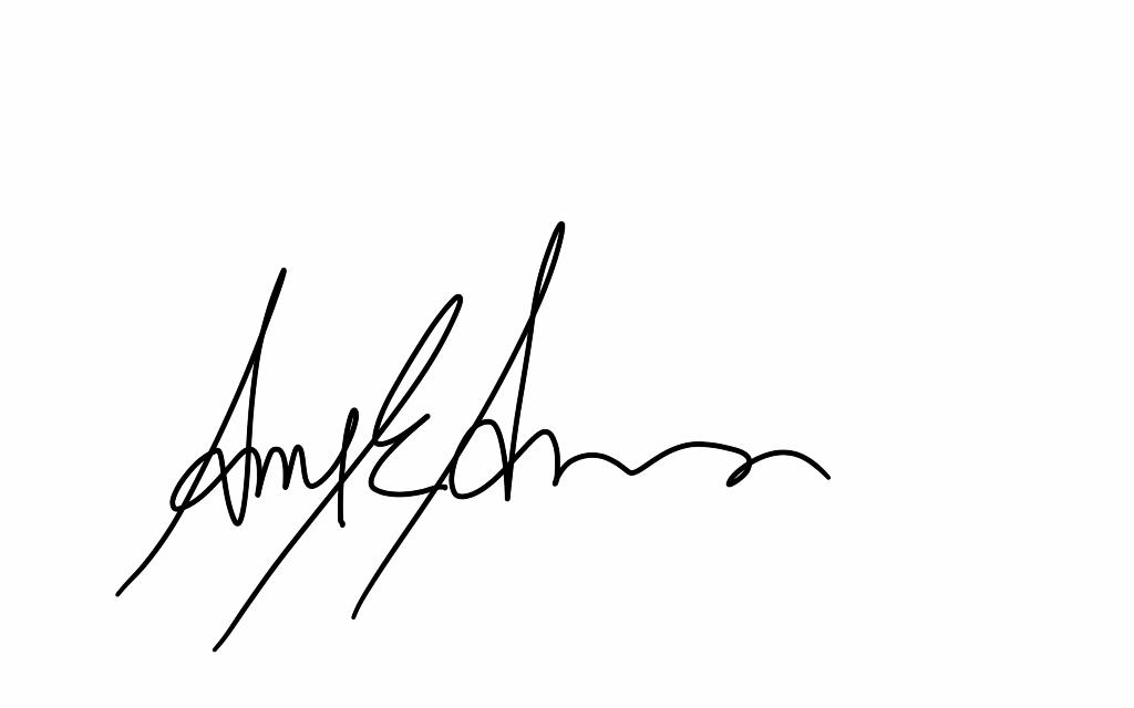 Amy Anderson's Signature