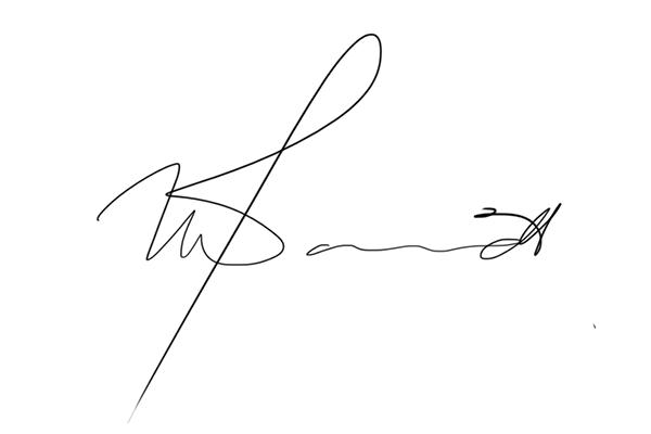 Thawlib Davids's Signature