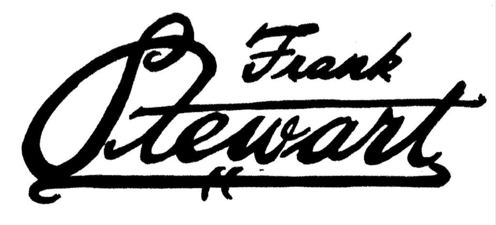 Frank Stewart's Signature