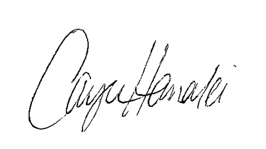 Cayce Hanalei's Signature