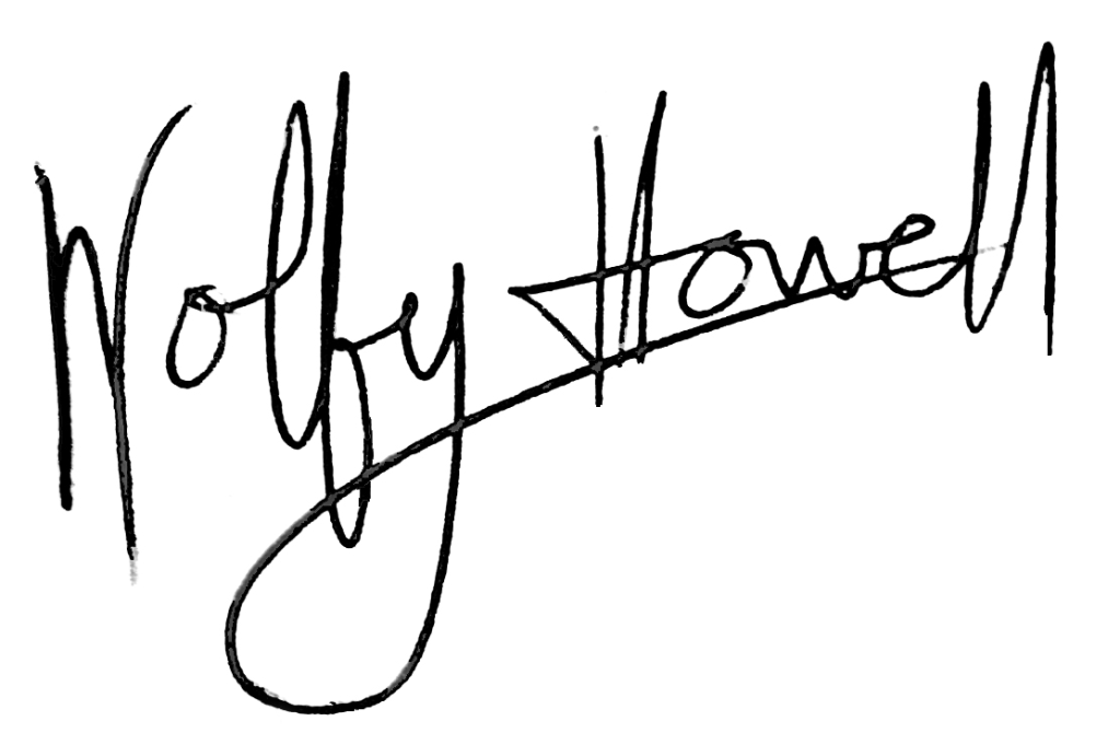 Wolfy Howell's Signature