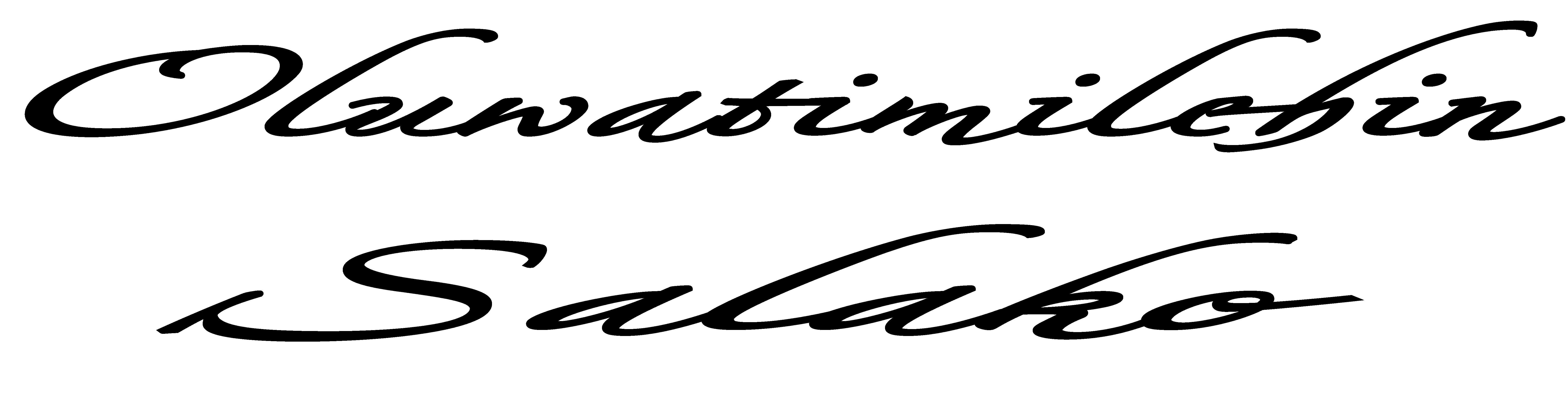Oluwatimilehin Salako's Signature