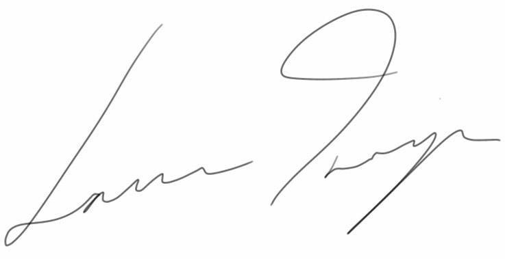 Laura Inniger's Signature