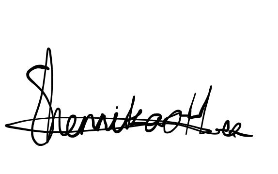 Shennika Hermanstyne's Signature