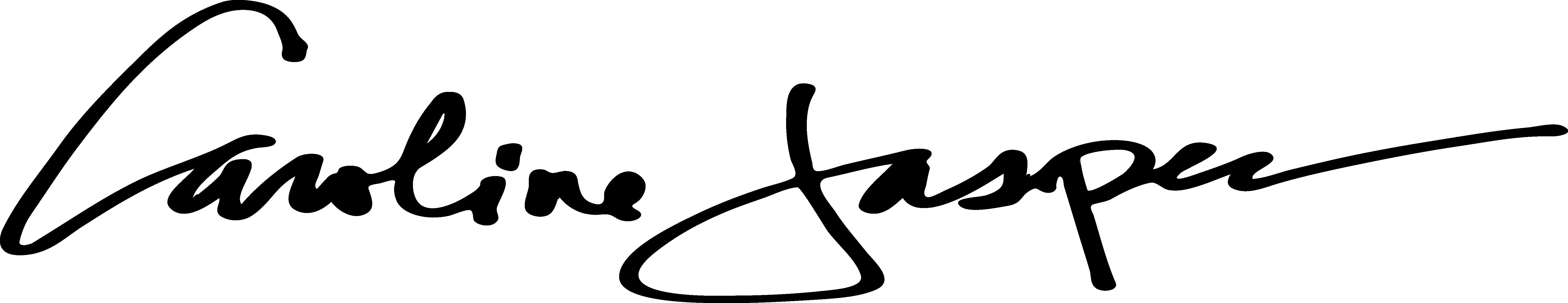 CAROLINE JASPER's Signature