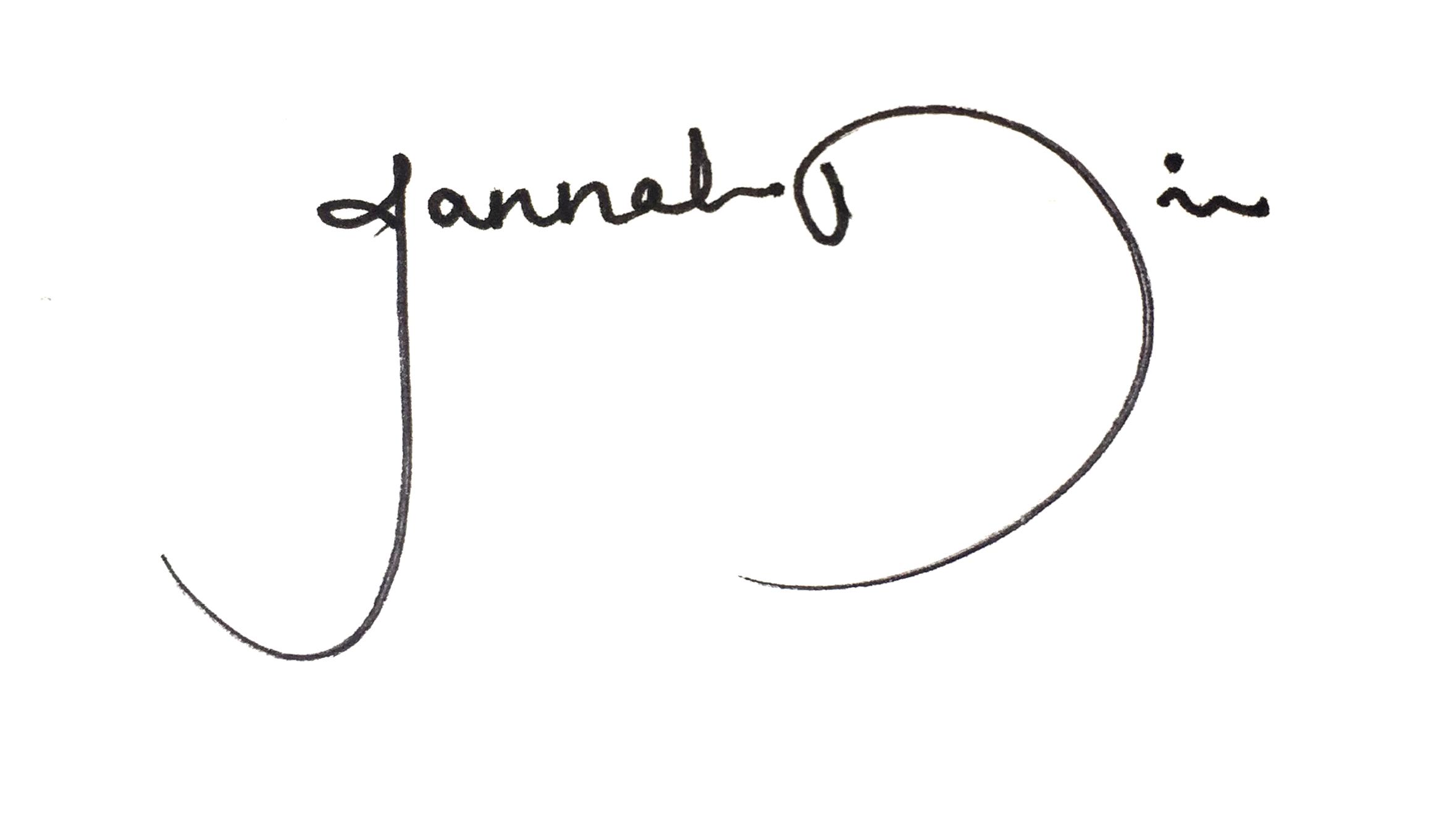 Jannah Din's Signature