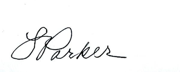 Linda Parker's Signature