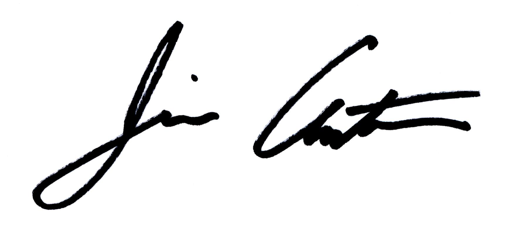 Jim Antonucci's Signature