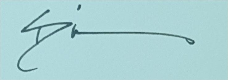 Sue Dion's Signature