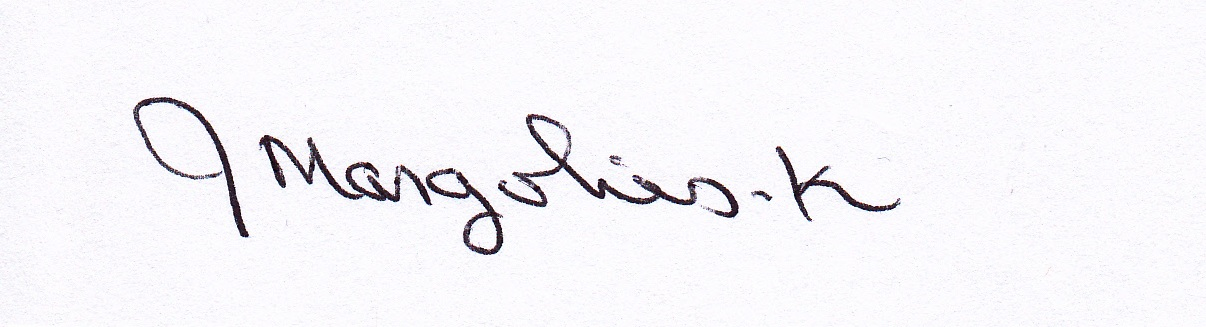 Joan Margolies-Kiernan's Signature