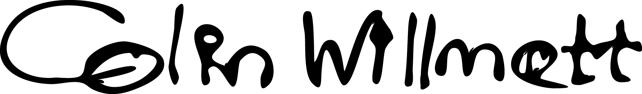 colin willmott's Signature