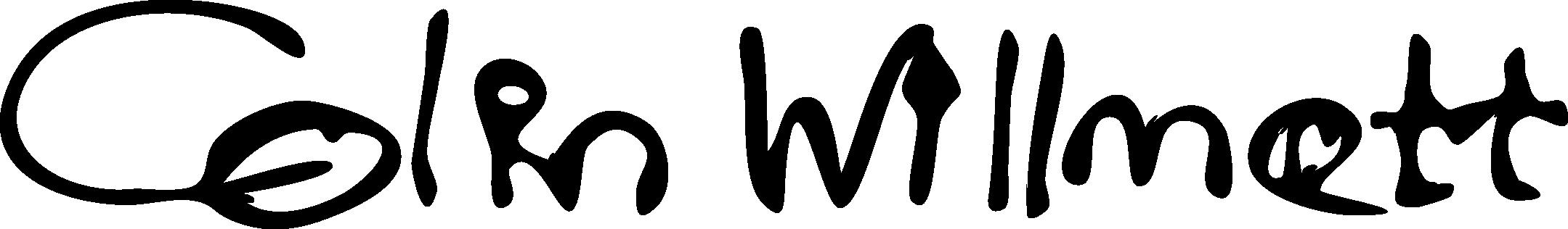 colin willmott's Signature