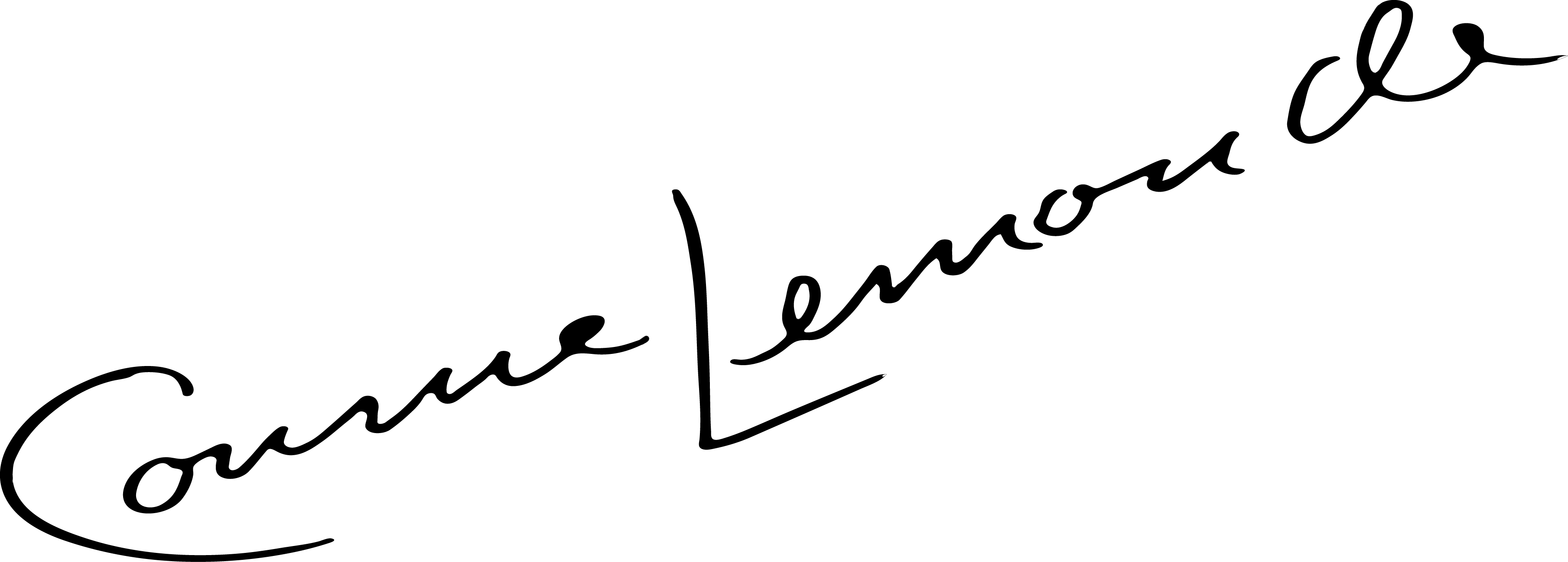 Connie Lemonde's Signature